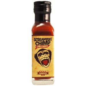 Chimpotle Screaming Chimp chilli sauce