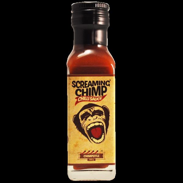 Chimpotle Screaming Chimp chilli sauce