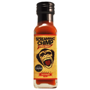 Stinger Screaming Chimp chilli sauce