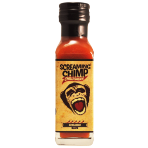 The Screamer Screaming Chimp chilli sauce