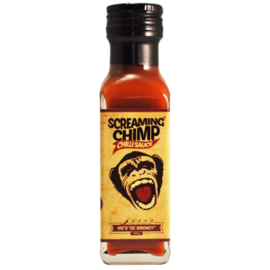Vics Ol' Smokey Screaming Chimp chilli sauce