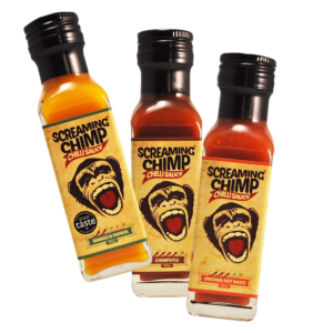Screaming Chimp 3 sauce deal