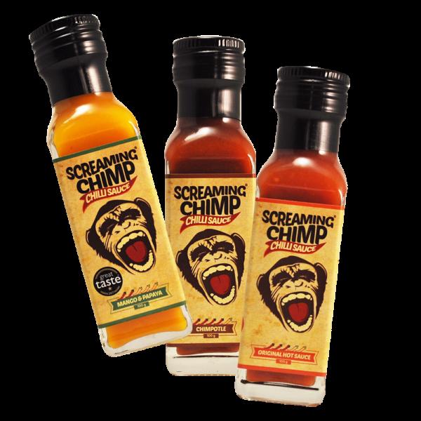 Screaming Chimp 3 sauce deal