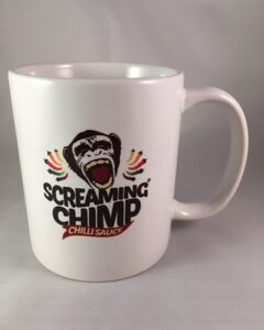 Screaming Chimp Mug