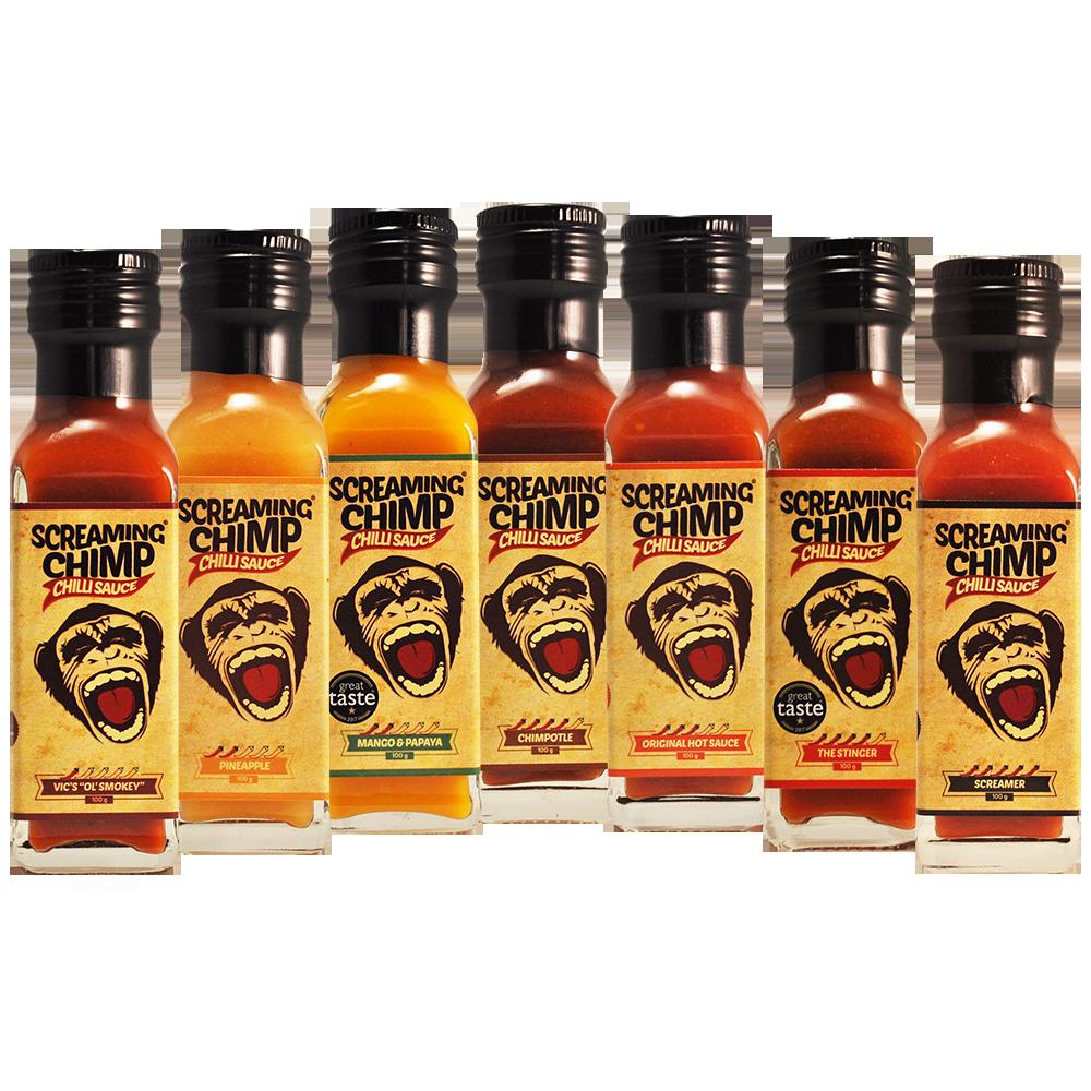 Screaming Chimp 7 chilli sauce deal