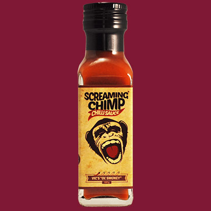 Screaming Chimp Vic's Ol' Smokey Chilli Sauce