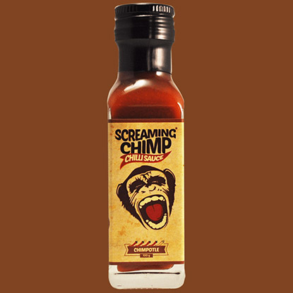 Screaming Chimp Chimpotle Chilli Sauce