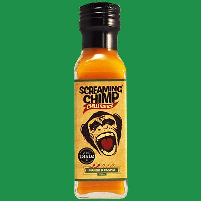 Screaming Chimp Mango & Papaya Chilli Sauce