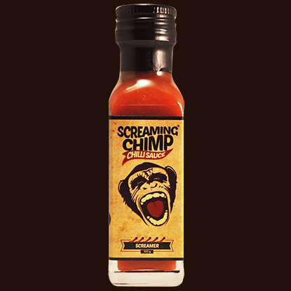 Screaming Chimp Screamer Chilli Sauce