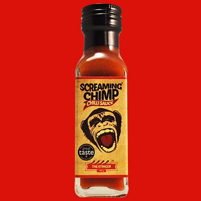 Screaming Chimp The Stinger Chilli Sauce