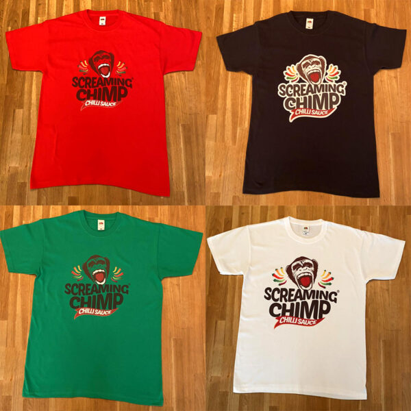 Screaming Chimp Logo TShirt
