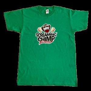 Screaming Chimp TShirt – New Design