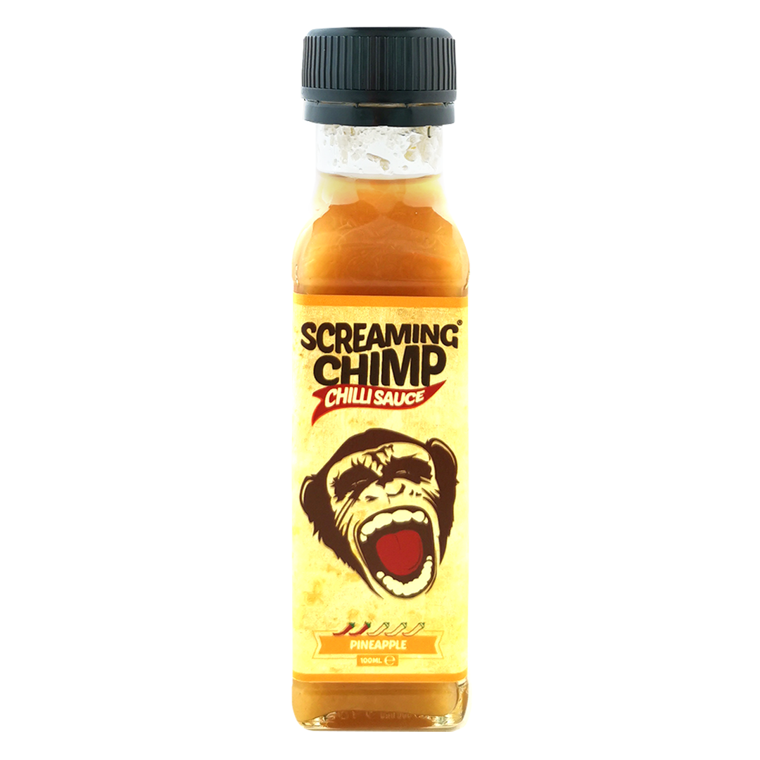 Screaming Chimp Pineapple Chilli Sauce