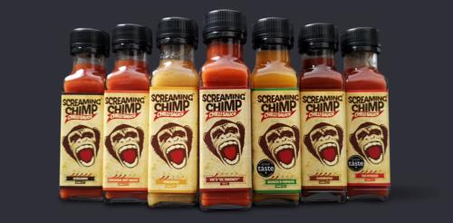 Screaming Chimp Chilli Sauces